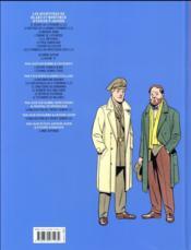 Blake et Mortimer T.23 ; le bâton de Plutarque - 4ème de couverture - Format classique