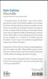 Marcovaldo - 4ème de couverture - Format classique