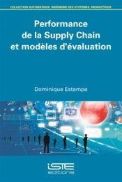 Performance de la Supply Chain et modèles d'évaluation - Couverture - Format classique