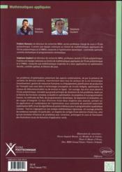 Recherche operationnelle - aspects mathematiques et applications - 4ème de couverture - Format classique