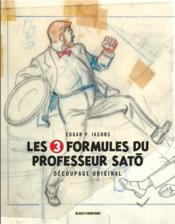 Autour de Blake et Mortimer T.7 ; les 3 formules du professeur Satô - Couverture - Format classique