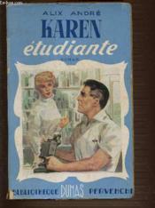 Karen Etudiante. Bibliotheque Pervenche. - Couverture - Format classique