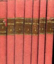Lettres Apostoliques De S.S. Leon Xiii Encycliques Brefs Etc - En 7 Tomes - Tomes 1 + 2 + 3 + 4 + 5 + 6 + 7 . - Couverture - Format classique
