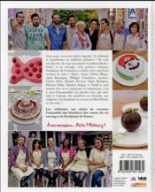 Le meilleur pâtissier ; spécial célébrités - 4ème de couverture - Format classique