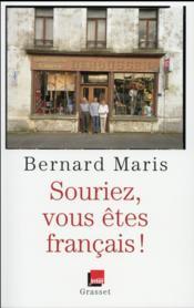 Souriez, vous êtes français ! - Couverture - Format classique