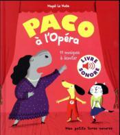 Paco à l'opéra - Couverture - Format classique