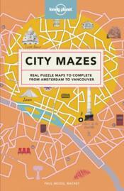 City mazes (édition 2018) - Couverture - Format classique