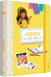 Les p'tites créatrices ; agenda (édition 2018/2019) - Couverture - Format classique
