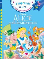 Alice au pays des merveilles ; CP, niveau 3 - Couverture - Format classique