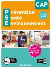 Prévention santé environnement PSE ; CAP ; pochette élève (édition 2020) - Couverture - Format classique