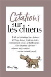 Nos chiens... citations - Couverture - Format classique