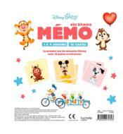 Disney Baby ; mémo - 4ème de couverture - Format classique