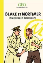 Blake et Mortimer ; deux aventuriers dans l'Histoire - Couverture - Format classique