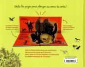 Mes contes à déplier ; le Chat botté - 4ème de couverture - Format classique