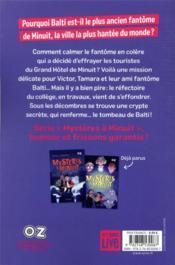 Mystères à minuit T.3 ; le lac aux esprits - 4ème de couverture - Format classique