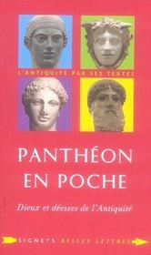 Panthéon en poche ; dieux et déesse dans l'antiquité - Intérieur - Format classique