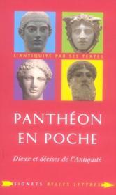Panthéon en poche ; dieux et déesse dans l'antiquité - Couverture - Format classique