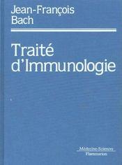 Traite d'immunologie (4. ed.) - Intérieur - Format classique