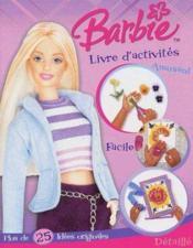 Barbie Livre D'Activites - Couverture - Format classique
