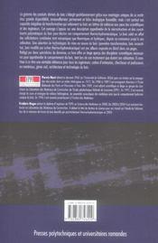 Comportement thermo-hydromecanique du bois - applications technologiques et dans les structures - 4ème de couverture - Format classique