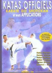 Katas officiels et leurs applications - Intérieur - Format classique