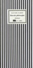 Hercule philosophe - Couverture - Format classique