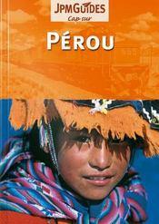 Pérou - Couverture - Format classique