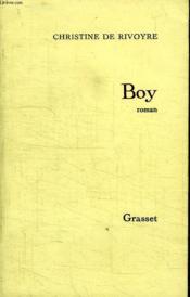 Boy. - Couverture - Format classique