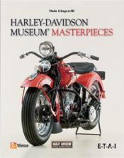 Harley-Davidson ; museum masterpieces - Couverture - Format classique