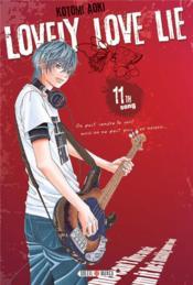 Lovely love lie T.11 - Couverture - Format classique