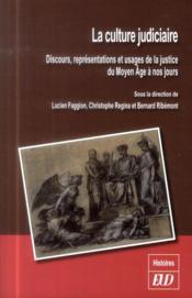 Culture judiciaire - Couverture - Format classique