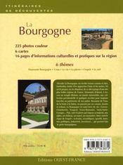 La Bourgogne - 4ème de couverture - Format classique
