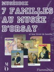 Le jeux de 7 familles au musée d'Orsay - Couverture - Format classique
