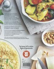 Mon cours de cuisine Weight Watchers ; le manuel indispensable pour réapprendre à cuisiner - 4ème de couverture - Format classique