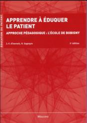 Apprendre a eduquer le patient, 5e ed. - Couverture - Format classique