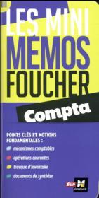 Les mini mémos Foucher ; compta - Couverture - Format classique