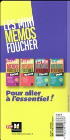 Les mini mémos Foucher ; compta - 4ème de couverture - Format classique