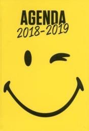 Smiley ; agenda (édition 2018/2019) - Couverture - Format classique