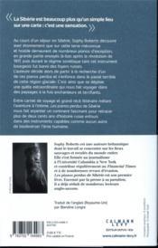Les pianos perdus de Sibérie - 4ème de couverture - Format classique