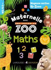 Ma maternelle avec une saison au zoo ; maths ; MS - Couverture - Format classique