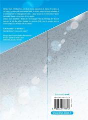 Blue summer T.1 - 4ème de couverture - Format classique