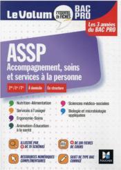 Le volum' ; ASSP, accompagnement, soins et services à la personne ; Bac Pro - Couverture - Format classique