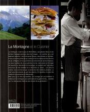 La montagne et le cuisinier - 4ème de couverture - Format classique