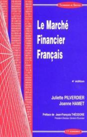 Marche Financier Francais (Le) - Couverture - Format classique