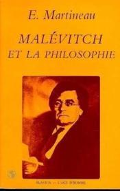 Malevitch Et La Philosophie - Couverture - Format classique