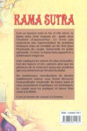 Kama Sutra - 4ème de couverture - Format classique