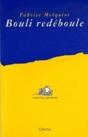 Bouli redéboule - Couverture - Format classique