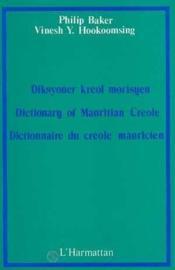 Dictionnaire Du Creole Mauricien - Couverture - Format classique