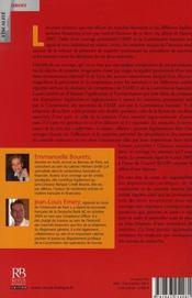 L'autorité des marchés financiers et la consommation bancaire - 4ème de couverture - Format classique