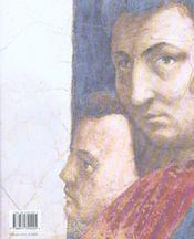 Masaccio Et Masolino - 4ème de couverture - Format classique